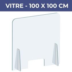 Vitre de protection 100x100...