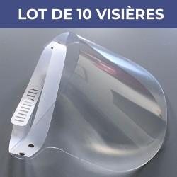 Lot de 10 visières - VIS3