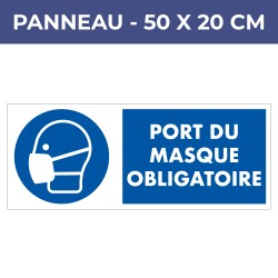 Panneau PORT MASQUE - PVC8