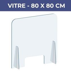 Vitre de protection 80x80...